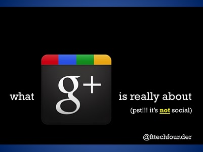 What Google+ is really about