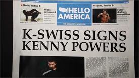 Kenny Powers, K-Swiss MFCEO